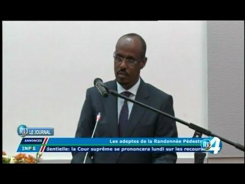 Télé Djibouti Chaine Youtube : JT Afar du 19/11/2017
