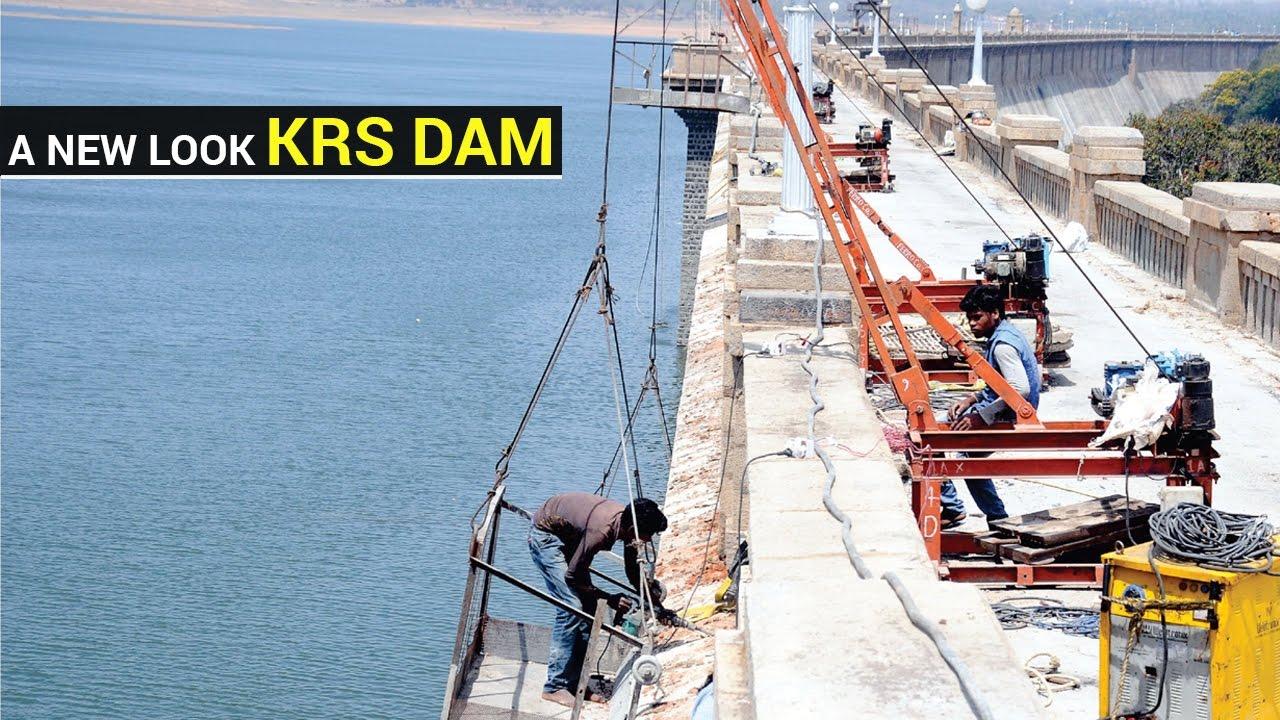 A new look Krishna Raja Sagar (KRS) Dam - Star of Mysore