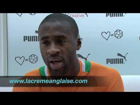 """Yaya Touré : """"Nasri, c'est un très grand"""""""