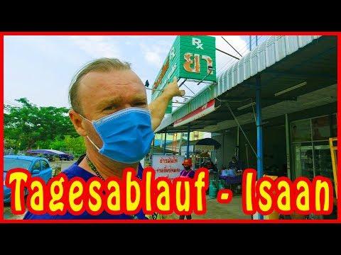 Ein Ganz Normaler Tagesablauf Im Isaan - Thailand