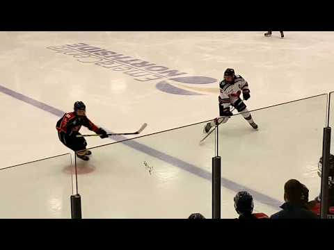 Cape Breton Cougars vs Cole Harbour in Major Bantam Action 11 Nov 2017
