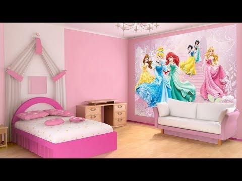 Kids Bedroom Wallpaper Wall Murals As Royal Decor Youtube