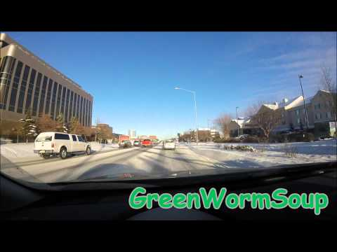 ANCHORAGE ALASKA WINTER DRIVE - Gopro Camera