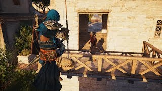 Assassin's Creed Origins - Stealth Kills - Master Assassin Gameplay - PC RTX 2080 Showcase