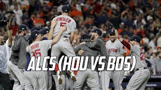 MLB   2018 ALCS Highlights (HOU vs BOS)