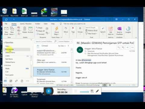 How To Recall Email Outlook Office 365