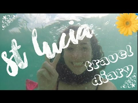 St. Lucia GoPro Travel Diary video:)