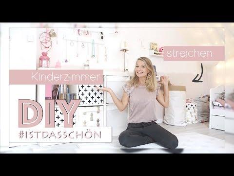 DIY - Kinderzimmer kreativ streichen - ein Mädchen Traum // delari