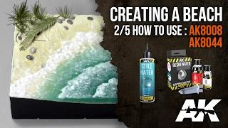 كيفية: AK8008 + AK8044 || شاطئ التضاريس ، الجزء 2/5: إضافة الماء