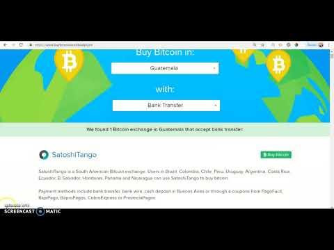 Buying Bitcoin In Guatemala