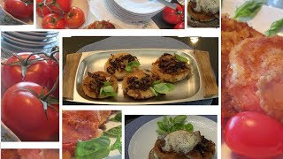 Danish Fried Tomatoes - Two Ways To Serve The Danish Fried Breaded Tomatoes- Stegte Tomater