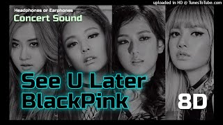 """BlackPink - """"See U Later"""" with Fanchant [Concert Sound 8D]"""
