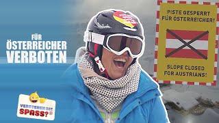Skipiste gesperrt für Österreicher | Verstehen Sie Spaß?