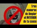Tres maneras de limpiar el interior de tu casco - Vlog motero en Español