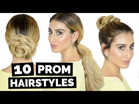 10 Easy Prom Hairstyles!