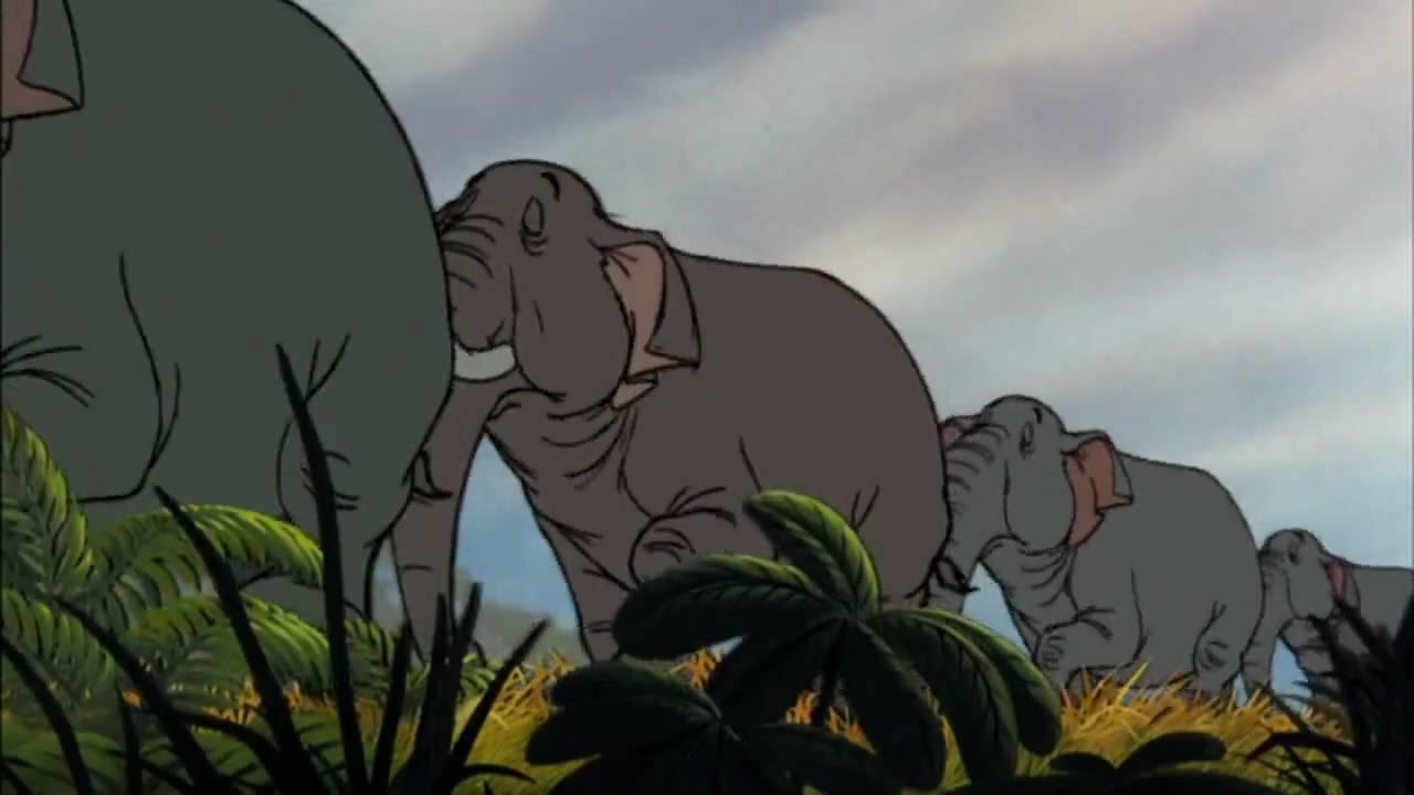 Le Livre de la Jungle _La patrouille des éléphants.avi - YouTube