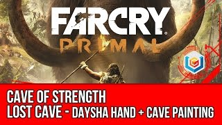 Far Cry Primal - Cave of Strength Guide - Daysha Hand + Cave Painting (Collectibles)