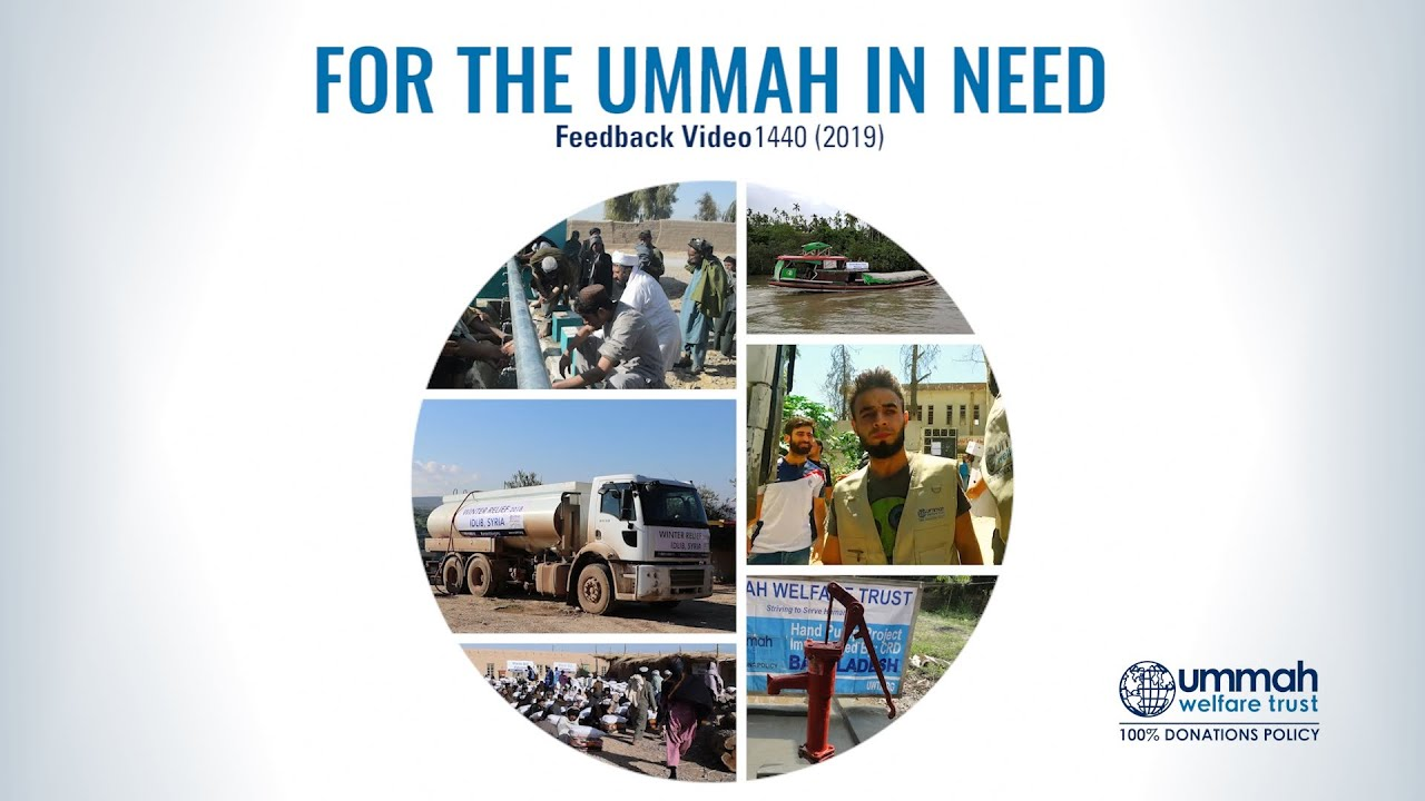 Ummah Welfare Trust (UWT) Committed to 100% Donations