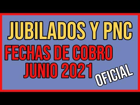 Jubilados FECHA de Cobro Junio 2021 - ANSES JUBILADOS Y PENSIONADOS PNC