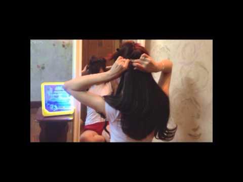 Hướng dẫn sử dụng tóc kẹp ngang - Tóc kẹp tơ Bshine - Bống Bee