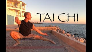 20 Minute Tai Chi Routine on the Beach