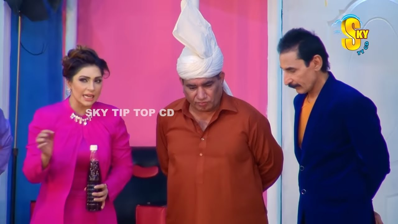 Mr Gaama | New Stage Drama Comedian Nasir Chinyoti Iftikhar Thakur