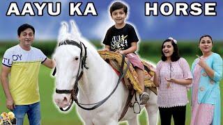 AAYU KA HORSE | Moral Story for kids | Aayu and Pihu Show