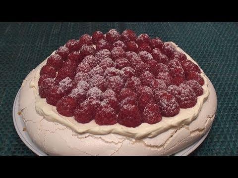 Raspberry Pavlova Recipe