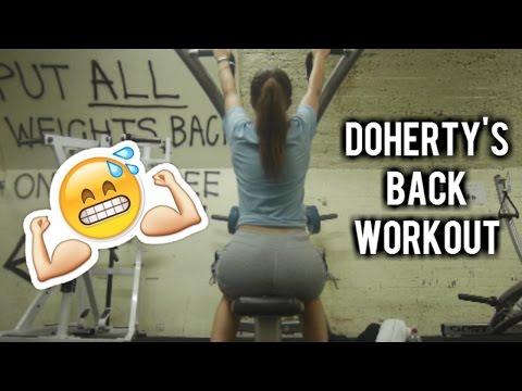 Back Workout at Doherty's CBD Gym | Melbourne Vlogs Finale