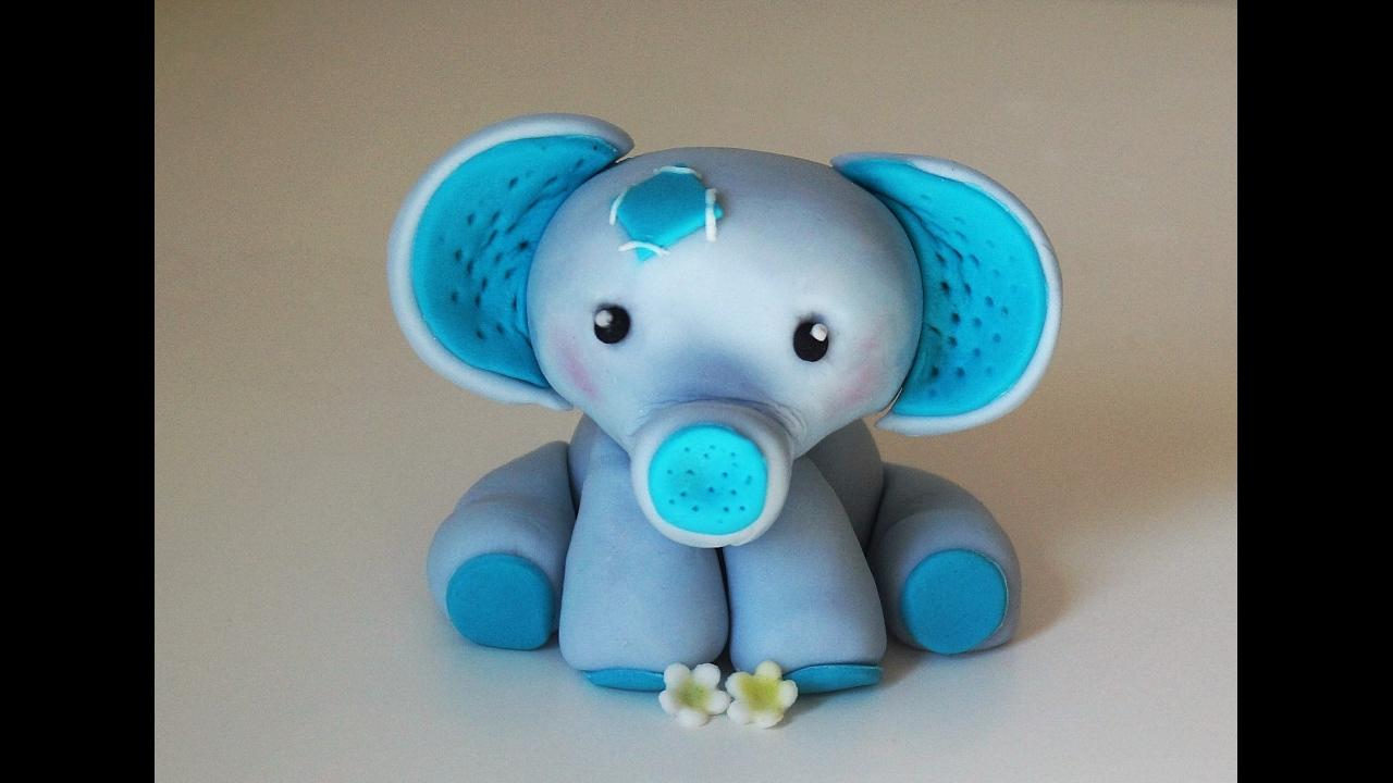 Cake decorating tutorials | how to make a baby elephant ...
