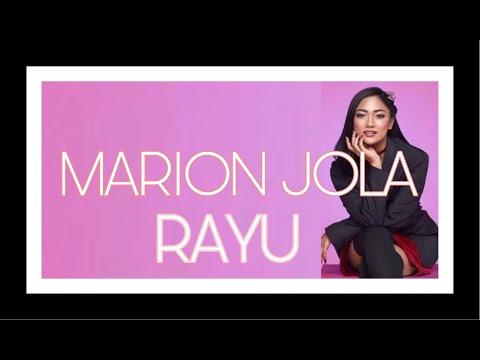 MARION JOLA - RAYU [Lirik]