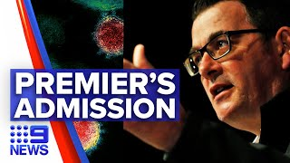 Coronavirus: Victorian Premier Andrews reveals troubling new COVID-19 numbers | 9 News Australia