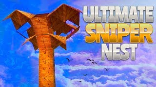 ULTIMATE SNIPER NEST (Fortnite Battle Royale) | rhinoCRUNCH