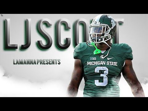 LJ Scott  Most Underrated RB in the Country   201617 MSU Highlights