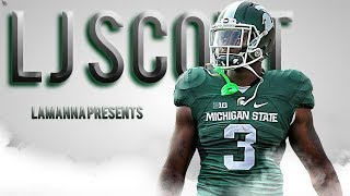 LJ Scott || Most Underrated RB in the Country || Official 2016-17 MSU Highlights