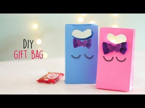 DIY Gift Bag  Paper Gift Bag  Paper Folding