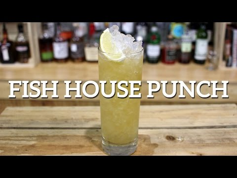Fish House Punch Drink Recipe