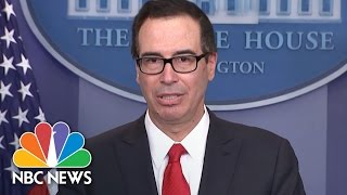 Steve Mnuchin Unveils 'Massive' Tax Cuts For Small And Large Businesses | NBC News