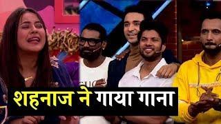 "Bigg Boss 13 : Shehnaz Gill Singing A ""Mera Nakhra Tikhi Talwar Warga"" In This Weekend Ka Vaar BB 13"