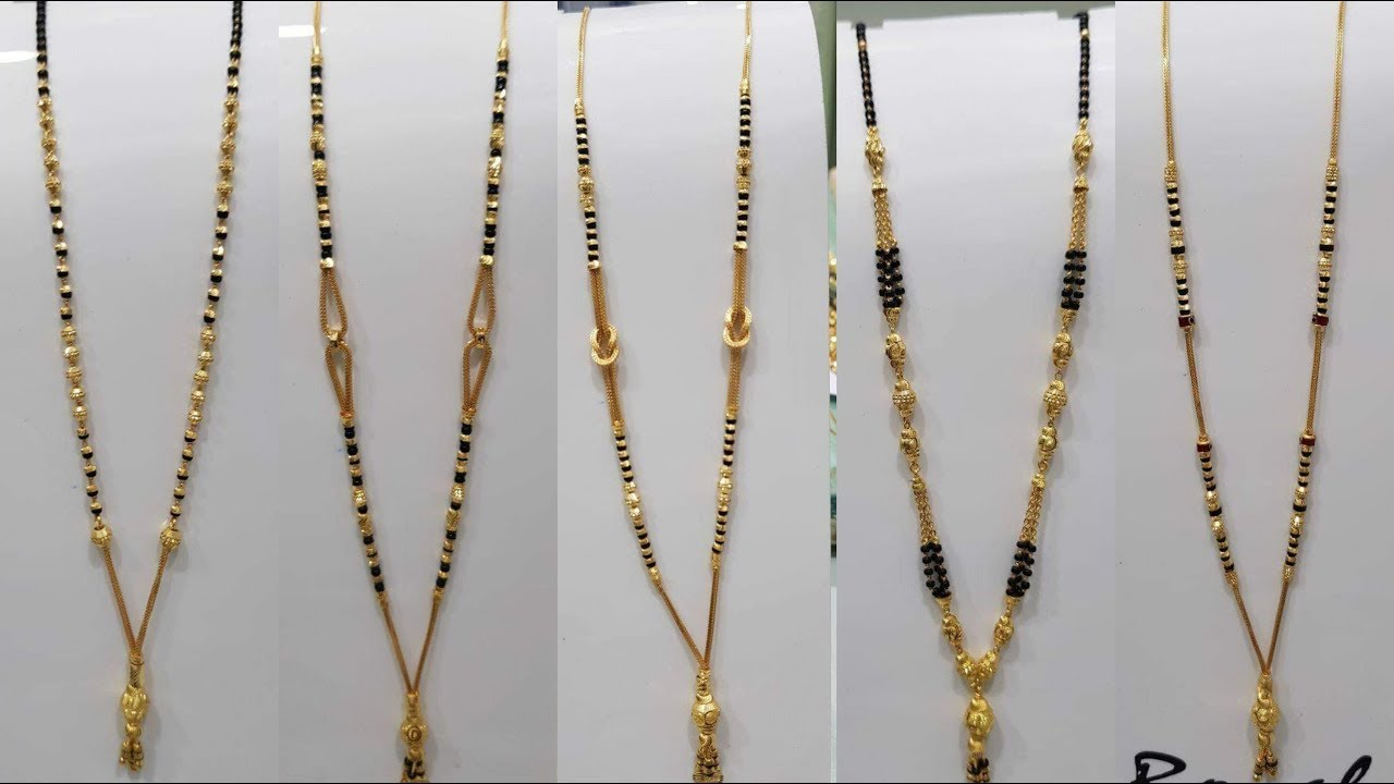 Latest Gold Chain Mangalsutra Designs 2019