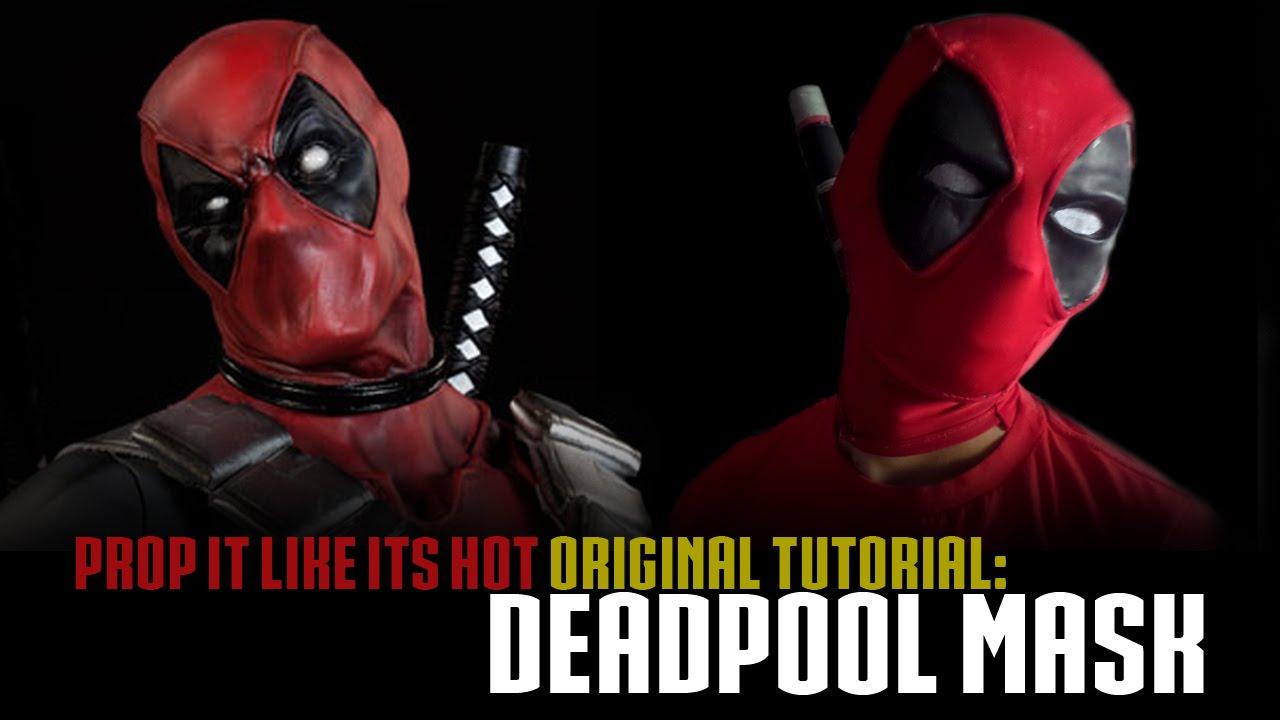 Deadpool mask tutorial youtube deadpool mask tutorial solutioingenieria Images