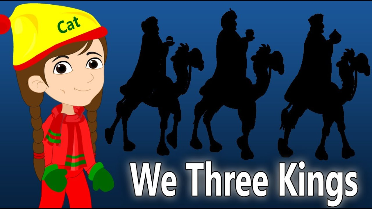 We Three Kings | Christmas Songs For Children | British Kids Songs ...