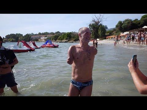 VIDEO. Tour de Corse à la nage : Thierry Corbalan et son équipe réussissent le défi