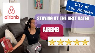 Gambar cover STAYING AT THE BEST REVIEWED AIRBNB IN LA *PART ONE* | #LAVLOGS