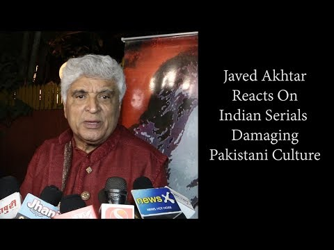 Javed Akhtar Reacts On Indian Serials (Daily Soaps ) Damaging Pakistani Culture Mp3