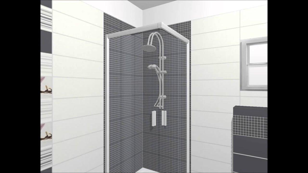 Design 3d pentru baie colectia de gresie si faianta for Gresie si faianta baie