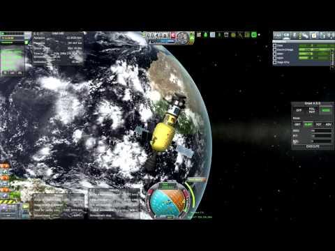 Kerbal Space Program (0.24) - Realism Overhaul 059 - Mercury Fly-by without Lithobraking