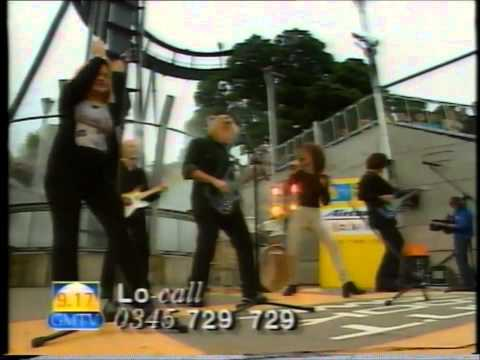 GMTV live in X Sector, Alton Towers - 1998 - Billie Myers: Tell Me