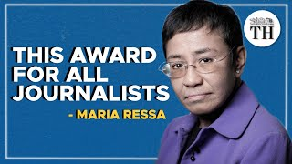 Exclusive: Interview with Nobel Peace Prize winner Maria Ressa | Worldview with Suhasini Haidar