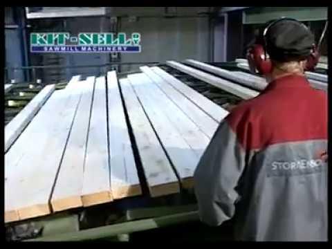 Sticker-stackers Save Manpower Preparing Lumber For Drying